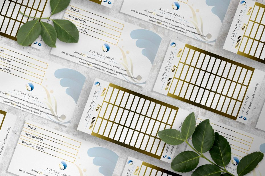 Clean minimal business card mockup. PSD file.