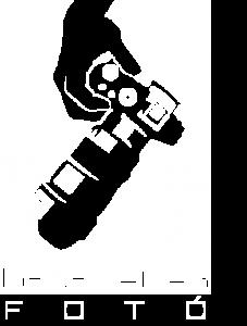 kész logó fehér